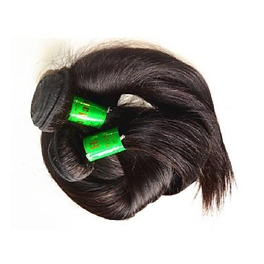 شعر ريمي موجات الشعر الطبيعي مستقيم شعر هندي 400 g أكثر من سنة واحدة