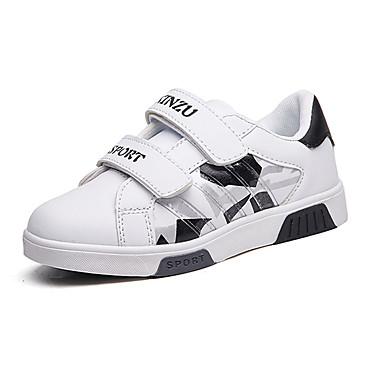 Jungen-Sneaker-Outddor Lässig-Kunstleder-Flacher Absatz-Komfort-Schwarz Blau Rot