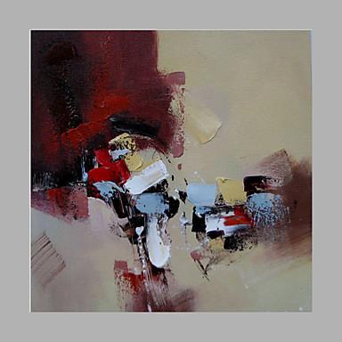 手描きの抽象モダン、ワンパネルキャンバスの油絵家の装飾