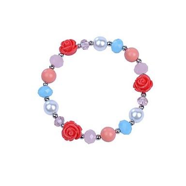 Damen Ketten- & Glieder-Armbänder Modisch Aleación Blume Schmuck Für Party Alltag Normal