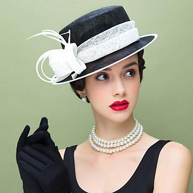 Lan / Perje Kentucky Derby Hat / Fascinators s 1 Vjenčanje / Special Occasion / Kauzalni Glava