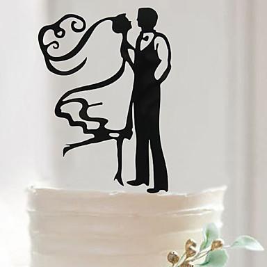 Bursdag / Valentinsdag / Bryllupsfest Akryl Blandet Materiale Bryllupsdekorasjoner Klassisk Tema Vinter Vår Sommer Høst Alle årstider