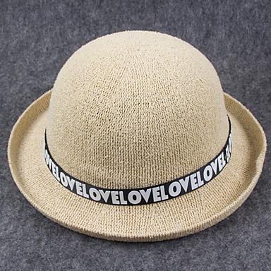 Alla pescatora Cappello da sole Donna Vintage Romantico Da serata Casual  Molla Estate Cotone a174b7e0c3fb