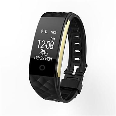 Smart armbånd til iOS / Android Pulsmåler / Lang Standby / Vannavvisende / Pedometere / Anti-lost Samtalepåminnelse / Aktivitetsmonitor / Søvnmonitor / Stillesittende sittende Påminnelse / 120-150