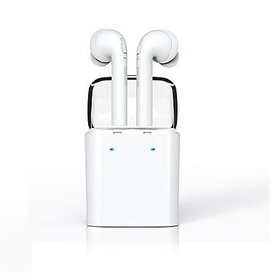 DACOM 7S في الاذن لاسلكي Headphones ديناميكي بلاستيك الهاتف المحمول سماعة مع ميكريفون / السائقين المزدوجة سماعة