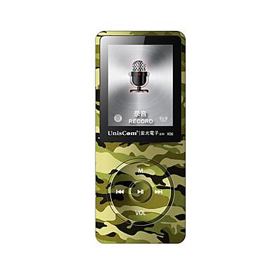 Uniscom MP3 MP3 WMA WAV FLAC APE OGG AAC Ladattava Li-ion akku