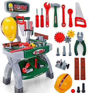 Caixas de Ferramentas Ferramentas de Brinquedo Segurança Novidades Plástico Para Meninos Crianças Dom