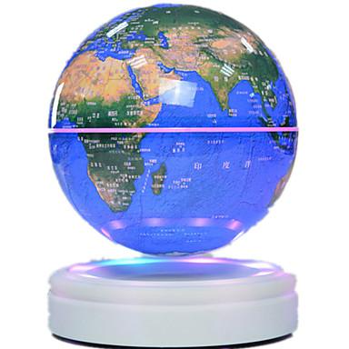 Flytende Globe Globe Magnetisk levitasjon Gutt 1pcs Deler ABS