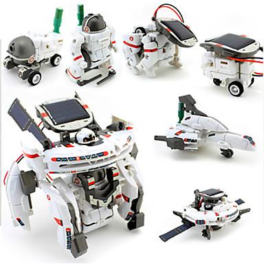 7 IN 1 Robô Carros de Brinquedo Brinquedos a Energia Solar Robô Alimentado a Energia Solar Recarregável Faça Você Mesmo ABS Crianças Para Meninos Brinquedos Dom