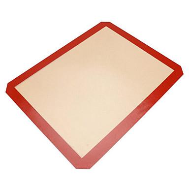 Herramientas para hornear Silicona Ecológica / Antiadherente Pan / Pastel Hornear esteras y Revestimientos 1pc