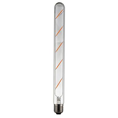 1pc 500lm E26 / E27 LED-glødepærer Tube 5 LED perler COB Dekorativ Varm hvit 85-265V