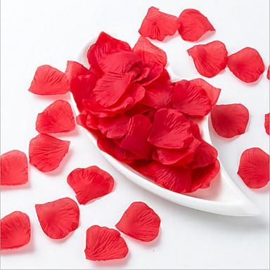 زهور اصطناعية 5 فرع Wedding Flowers بتلات أزهار الطاولة