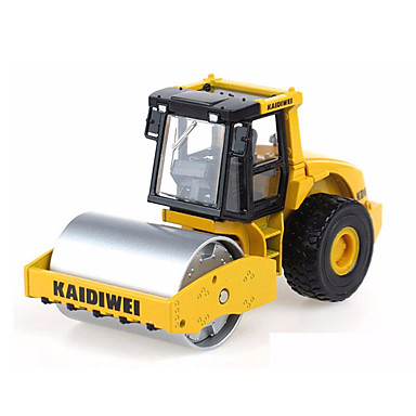 Entreprenørmaskiner / Kompaktor Leketrucker og byggebiler / Lekebiler 01:50 Inntrekkbar Metallisk / Plast / ABS 1 pcs Gutt Barne Leketøy Gave