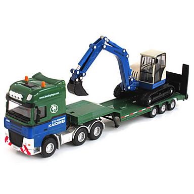 Vehículo de construcción Excavadoras Camiones y vehículos de construcción de juguete Coches de juguete 1:50 Retráctil Metalic El plastico ABS 1 pcs Niños Chico Chica Juguet Regalo