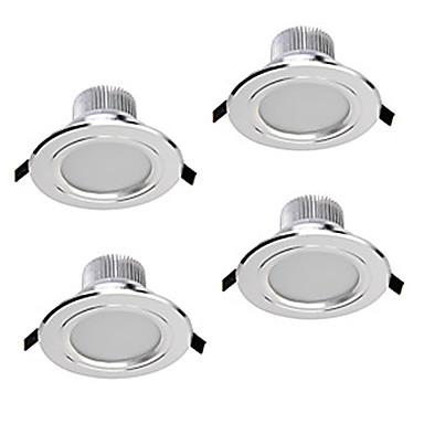 ZDM® 4pcs 5W 400-450lm 5 LED Regulable Luces LED Descendentes Blanco Cálido Blanco Fresco Blanco Natural AC110 AC220 AC 12V