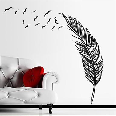 Naturaleza muerta Pegatinas de pared Calcomanías de Aviones para Pared Calcomanías Decorativas de Pared, Vinilo Decoración hogareña