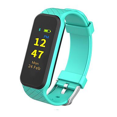 Pulsera inteligente para iOS / Android Monitor de Pulso Cardiaco / Control de Mensajes Temporizador / Reloj Cronómetro / Seguimiento de Actividad / Seguimiento del Sueño / Encontrar Mi Dispositivo