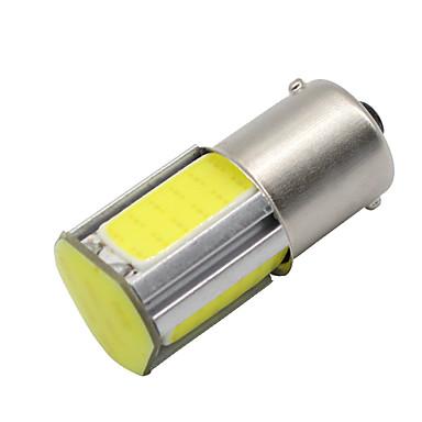 SO.K 4pçs BA15S (1156) Lâmpadas 3 W SMD 5730 / COB 230 lm LED Luz Diurna For Universal Todos os Modelos Todos os Anos