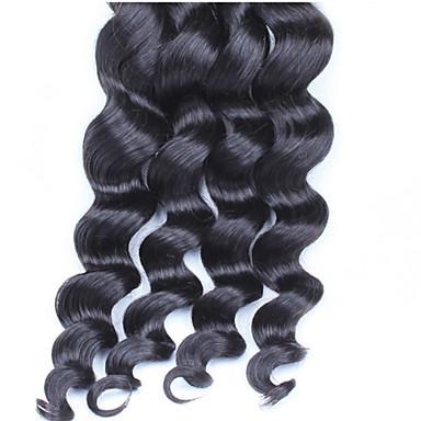Az emberi haj sző Other Laza hullám 3 darab haj sző