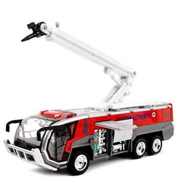 Carros de Brinquedo Modelo de Automóvel Caminhão de Bombeiro Brinquedos Novidades Simulação Carro Caminhões de Bombeiros Liga de Metal