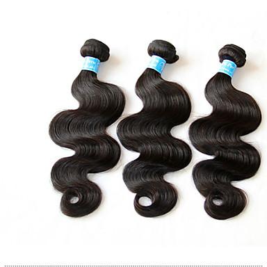Cheveux Péruviens Ondulé Tissages de cheveux humains 3 Pièces 0.3