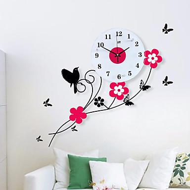 Moderne contemporain bureau affaires famille ecole dipl me amis horloge murale nouveaut - Pendules de cuisine originales ...