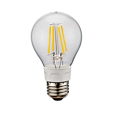 GMY® 1pc 6W 650-750lm E26 LED-glødepærer A60(A19) 4 LED perler COB Kjølig hvit 110-130V