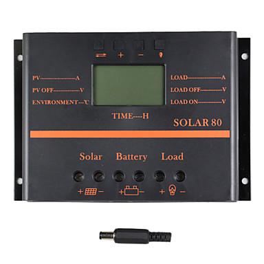 y-solar 80a lcd solenergi lade kontrolleren PWM lade solcellepanel solar80