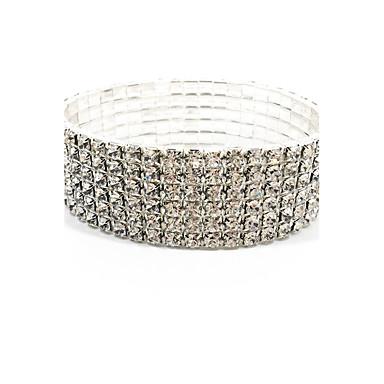 Damen Weiß - Tennis – Armband Armbänder Weiß Für Hochzeit Party Geburtstag / Verlobung / Geschenk / Alltag