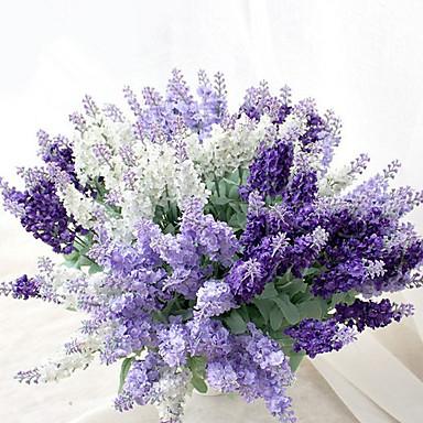 Bouquets de Noiva Buquês Casamento / Festa / Noite Seda 13