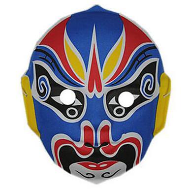 voordelige Maskers voor de feestdagen-Halloweenmaskers Handgeschilderd masker Muovi Horrorthema Kinderen