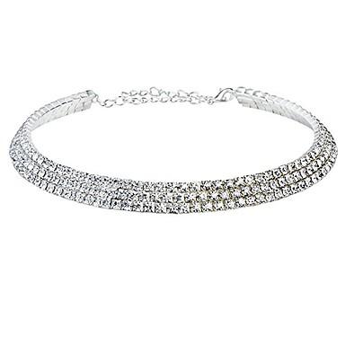 Kadın's Resimdeki gibi Kolye / Y kolye - Çiçek Gümüş Kolyeler Mücevher Uyumluluk Parti, Özel Anlar, Doğumgünü / Hediye / Günlük