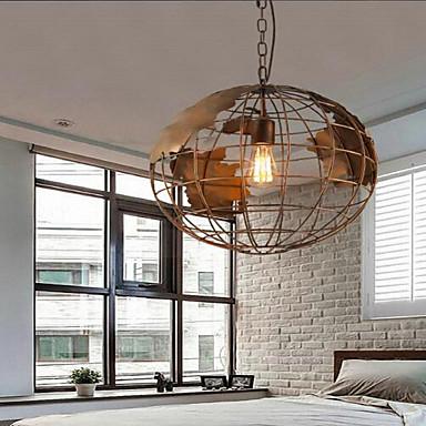 Retro Globe Designers Pendant Light Downlight For Living Room Dining Study Office Entry