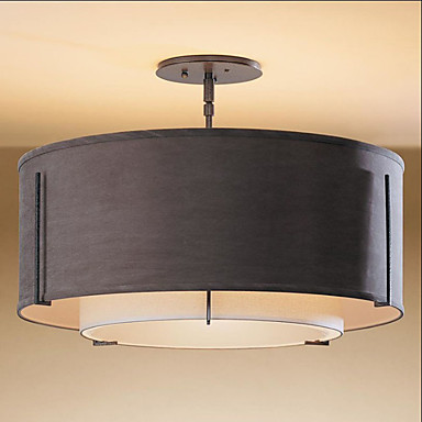 3-الضوء تركيب السقف المدمج ضوء محيط - استايل مصغر, 110-120V / 220-240V لا يشمل لمبات / 15-20㎡ / E26 / E27