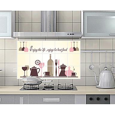 Autocolantes de Parede Decorativos - Autocolantes de Aviões para Parede Vida Imóvel / Moda / Lazer Cozinha