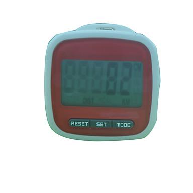Pedometere Automatisk LCD Skjerm Batteri ABS