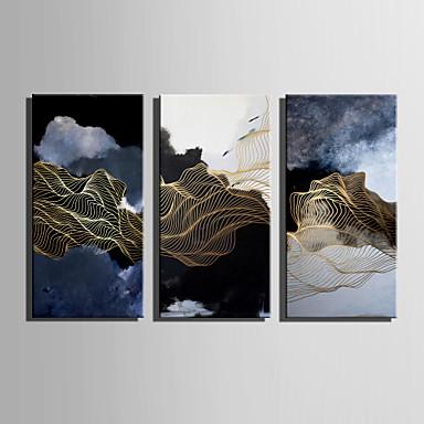 Abstrakt Landskap Moderne, Et Panel Lerret Lodrett Trykk