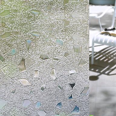 الفني معاصر ملصق النافذة, PVC/Vinyl مادة نافذة الديكور غرفة الطعام غرفة النوم المكتب غرفة الأطفال غرفة المعيشة غرفة حمام شوب / مقهى المطبخ