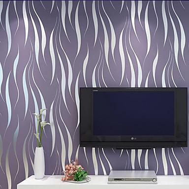 Contemporary Wallpaper Art Deco 3d Simple Modern Wallpaper