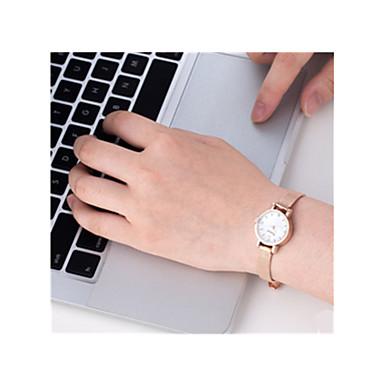 baratos Relógios Senhora-Mulheres Relógio de Pulso Quartzo 30 m / Aço Inoxidável Banda Analógico-Digital Vintage Prata / Dourada - Dourado Branco Prata