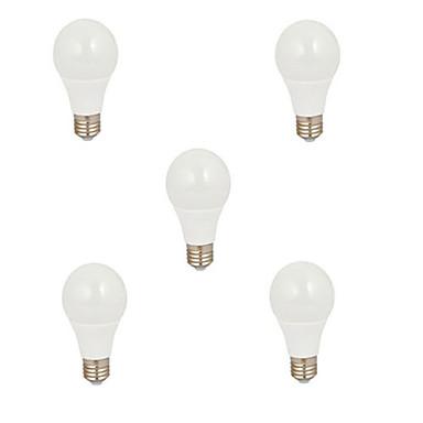 HRY 550 lm E26/E27 LED gömbbúrás izzók A60(A19) 12 led SMD 5630 Dekoratív Meleg fehér Hideg fehér
