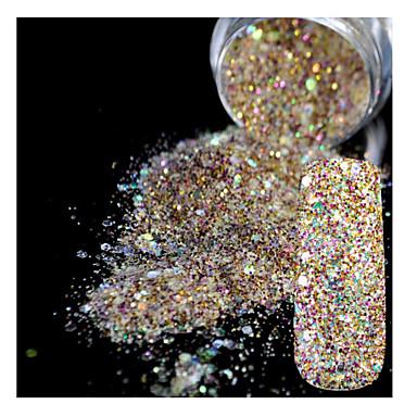 5g Glitter & Poudre Pudder Glitters Klassisk Shimmering Høy kvalitet Daglig
