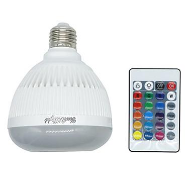 1pc 4 W / 6 W 400-500 lm Smart LED-lampe LED perler Bluetooth / Mulighet for demping / Fjernstyrt RGB 85-265 V / 1 stk.