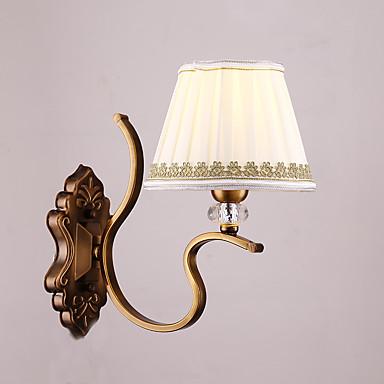 Traditionel / Klassisk Vegglamper Metall Vegglampe 220-240V 40W