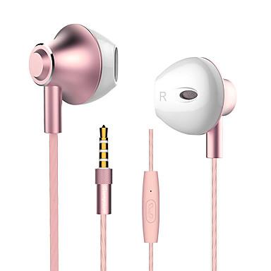 langsdom Langsdom M420 EARBUD Con Cable Auriculares Dinámica Aluminum Alloy Teléfono Móvil Auricular Con Micrófono Auriculares