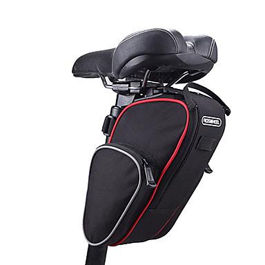 ROSWHEEL Fahrrad-Sattel-Beutel Wasserdicht, tragbar, Multifunktions Fahrradtasche Stoff / 600D Polyester Tasche für das Rad Fahrradtasche Radsport / Fahhrad