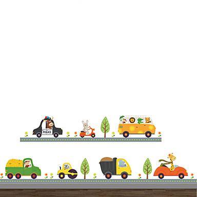 Autocolantes de Parede Decorativos - Autocolantes de Aviões para Parede Animais / Moda / Transporte Sala de Estar / Quarto / Banheiro