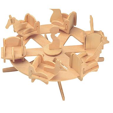 Byggeklosser / 3D-puslespill / Puslespill Kjent bygning / Kinesisk arkitektur / Karusell Nuttet / profesjonelt nivå / GDS Tre 1 pcs Barne
