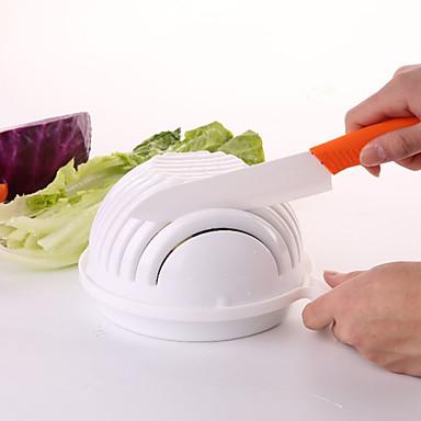 fabricante de salada rápida fácil 60 segundo salada tigela helicóptero