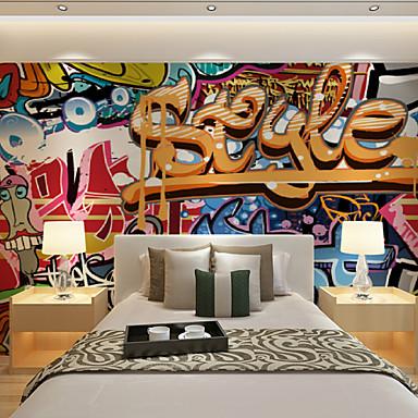 Mural Lona Revestimiento de pared - adhesiva requerida Art Decó / 3D